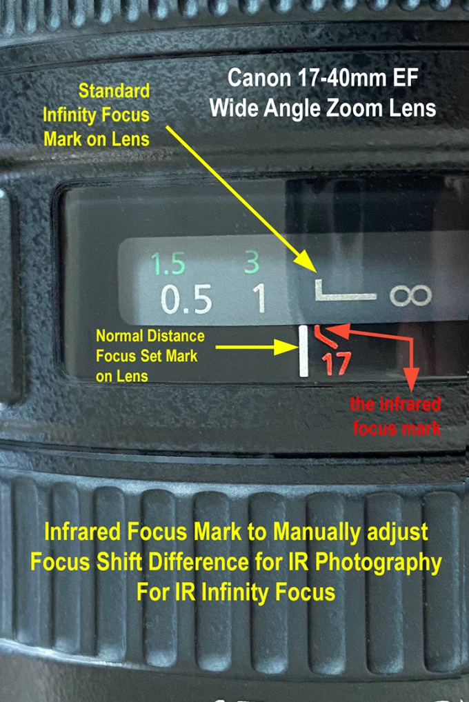 Infinity focus mark v2