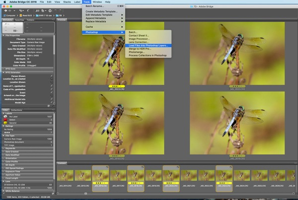 2 A Load files into Layere PSD copy